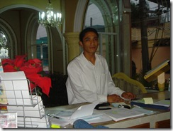 Yair - Receptionist & Waiter
